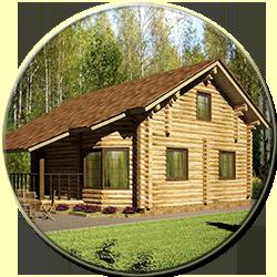 Деревянный дом Популярный