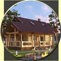 Деревянный дом Семейный