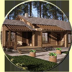 Дом деревянный Удоный