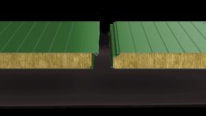 Стеновые сэндвич‑панели с минеральной ватой